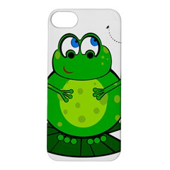 Green Frog Apple iPhone 5S/ SE Hardshell Case