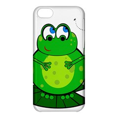 Green Frog Apple Iphone 5c Hardshell Case