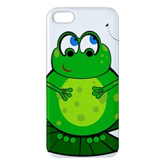 Green Frog Iphone 5s/ Se Premium Hardshell Case