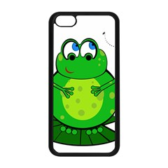Green Frog Apple iPhone 5C Seamless Case (Black)