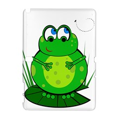 Green Frog Samsung Galaxy Note 10.1 (P600) Hardshell Case