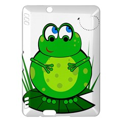 Green Frog Kindle Fire HDX Hardshell Case
