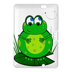 Green Frog Kindle Fire Hdx 8 9  Hardshell Case