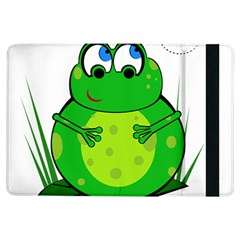 Green Frog iPad Air Flip