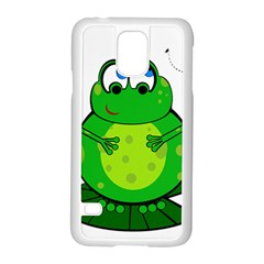 Green Frog Samsung Galaxy S5 Case (White)