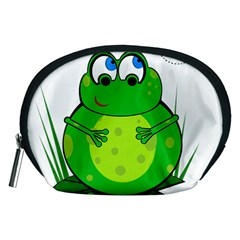 Green Frog Accessory Pouches (Medium)