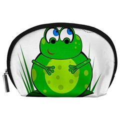 Green Frog Accessory Pouches (Large)