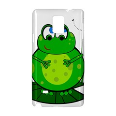 Green Frog Samsung Galaxy Note 4 Hardshell Case