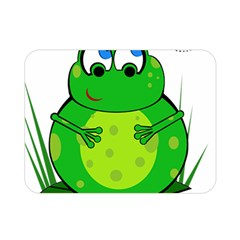 Green Frog Double Sided Flano Blanket (Mini)