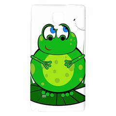 Green Frog Galaxy Note 4 Back Case