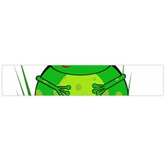 Green Frog Flano Scarf (Large)