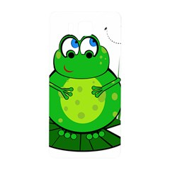 Green Frog Samsung Galaxy Alpha Hardshell Back Case