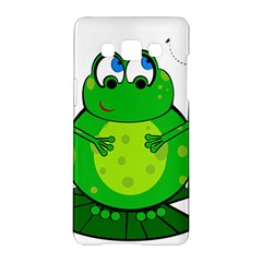 Green Frog Samsung Galaxy A5 Hardshell Case