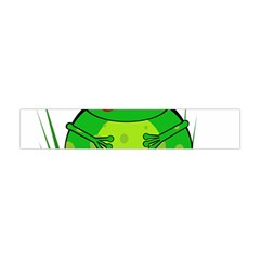Green Frog Flano Scarf (mini)