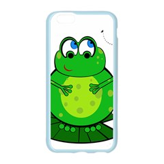 Green Frog Apple Seamless iPhone 6/6S Case (Color)