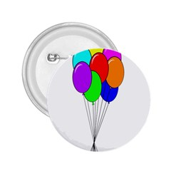 Colorful Balloons 2.25  Buttons