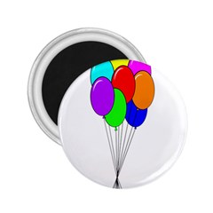 Colorful Balloons 2.25  Magnets