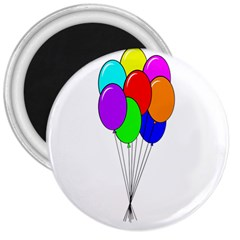 Colorful Balloons 3  Magnets