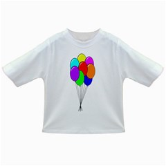 Colorful Balloons Infant/toddler T Shirts