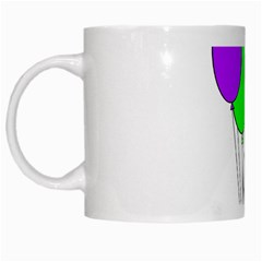 Colorful Balloons White Mugs