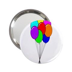 Colorful Balloons 2.25  Handbag Mirrors