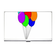 Colorful Balloons Business Card Holders