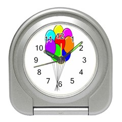 Colorful Balloons Travel Alarm Clocks