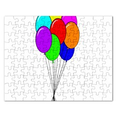 Colorful Balloons Rectangular Jigsaw Puzzl