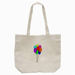 Colorful Balloons Tote Bag (Cream)