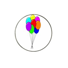 Colorful Balloons Hat Clip Ball Marker (4 Pack)