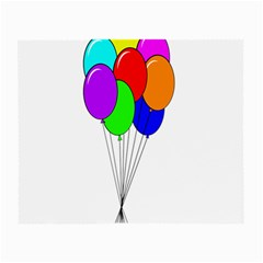 Colorful Balloons Small Glasses Cloth