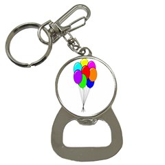Colorful Balloons Bottle Opener Key Chains