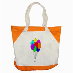 Colorful Balloons Accent Tote Bag