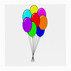 Colorful Balloons Medium Glasses Cloth