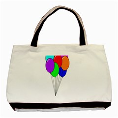 Colorful Balloons Basic Tote Bag (Two Sides)