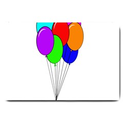 Colorful Balloons Large Doormat
