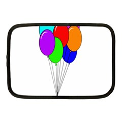 Colorful Balloons Netbook Case (medium)