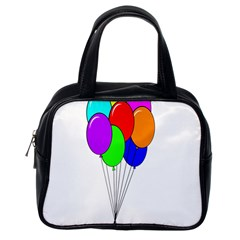 Colorful Balloons Classic Handbags (One Side)