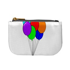 Colorful Balloons Mini Coin Purses