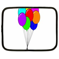 Colorful Balloons Netbook Case (XL)