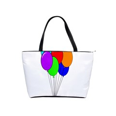 Colorful Balloons Shoulder Handbags