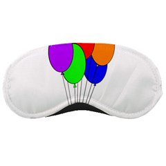 Colorful Balloons Sleeping Masks