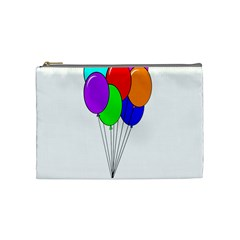 Colorful Balloons Cosmetic Bag (Medium)