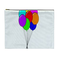 Colorful Balloons Cosmetic Bag (xl)