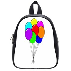 Colorful Balloons School Bags (small)
