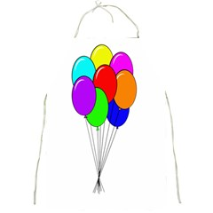 Colorful Balloons Full Print Aprons