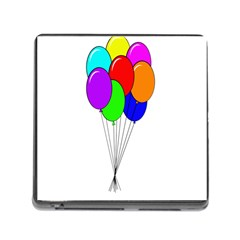 Colorful Balloons Memory Card Reader (Square)