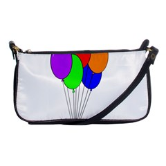 Colorful Balloons Shoulder Clutch Bags