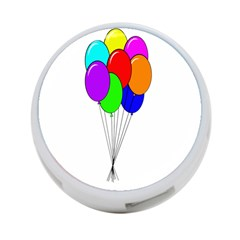 Colorful Balloons 4-Port USB Hub (One Side)