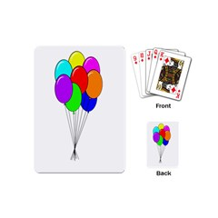 Colorful Balloons Playing Cards (mini)